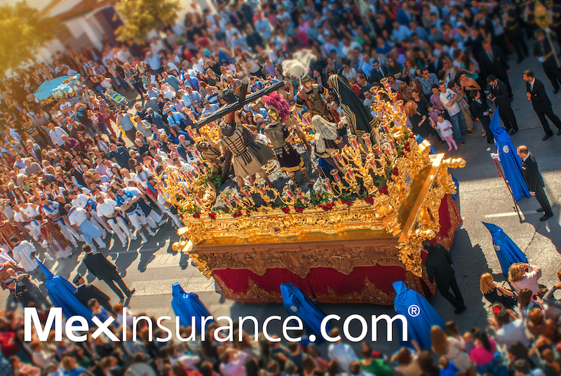 MexInsurance Carries the Cross with Jesus